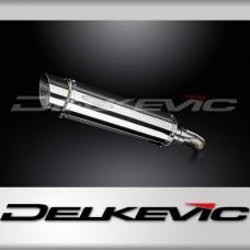 Kawasaki KLE650 VERSYS (2007-2014) KIT-Silencieux 350mm Rond Inox