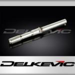 Chicane sur-dimension pour silencieux rond Delkevic 350mm Rond DL10 SL10